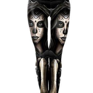 Pants - NEW Day Of The Dead Leggings Size Medium